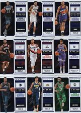 18/19 2018/19 Contenders Blue Foil Photo Variation #20 Jamal Murray Nuggets
