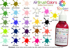 Air Brush Cake Decorating Edible Colors Paints - 20 ML Pure Teal by Karen