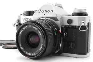 Near MINT/ Canon AE-1 PROGRAM + NEW FD 28mm F2.8  from Japan #1420