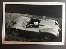 1959 Porsche RSK Jo Bonnier Nurburgring Jesse Alexander Postcard Post Card RARE!