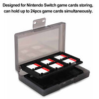 AU_ DI- JN_ 24 In 1 Portable Game Card Case For Nintend Switch Shockproof Hard S