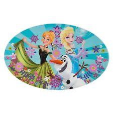 Disney Store Frozen Elsa, Olaf, Anna Placemat Table Mat Princess Dinnerware New