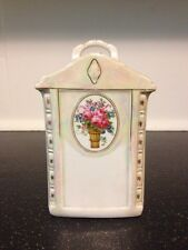 Vintage Rare Mepoco Ware Container Canister Ceramic Made In Germany
