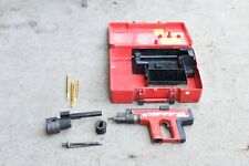 Hilti Dx 451 Powder Actuated Nail Gun With Case Amp Accessories
