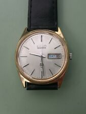 Seiko vintage GP quartz watch 7126-8000 Trans Zone Synchoniser with strap