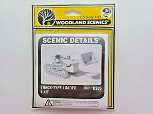 HO SCALE WOODLAND SCENICS #D235 TRACK TYPE LOADER FACTORY SEALED
