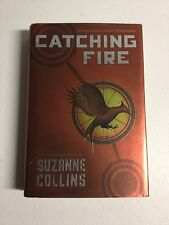 The Hunger Games: CATCHING FIRE by Suzanne Collins (2009 Hardcover) 1st printing