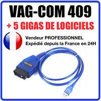 Outil de diagnostic auto câble USB kkl vag-com 409.1 OBD2 II OBD VW / audi seat