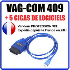 VAG KKL K409 OBD2 Interface de diagnostic USB Câble 16 Broches Car Scan Tool