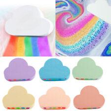 100g Rainbow Cloud Natural Bath Salt Bomb Ball Essential Oil Bubble Shower