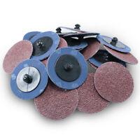 "100 2/"" Premium Sandpaper Sanding Disc TR Roloc A//O 60G"