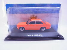 64143 Atlas Opel K 180 Kadett C Limousine 1974 orange Modellauto 1:43 NEU in OVP