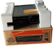 Band New Emerson 952 4 Head VHS Player VCR Video Cassette Recorder Original Box
