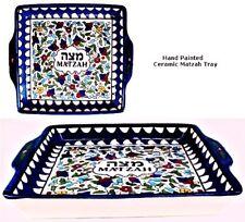 Ceramic Matzahs Tray