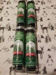 Scentsicles Scented Tree Ornaments, White Christmas Fir. 24 Sticks 4 Bottles.