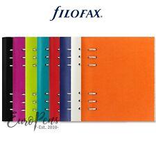 "Filofax ""Clipbook"" Leather-Look A5 Refillable Notebook - Choose Colour"