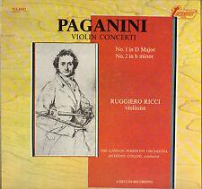"""RUGGIERO RICCI """"PAGANINI CONCERTO"""" 1973 LP STEREO"""