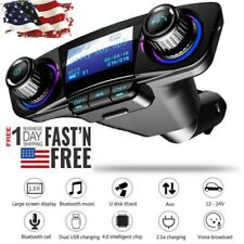 Bluetooth Car Mp3 Player Fm Transmitter Usb Charger Hands free Radio Adapter Kit