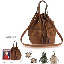 Ladies Fashion Handbags Womens Large Size Drawstring Bucket Bags Party Shopping