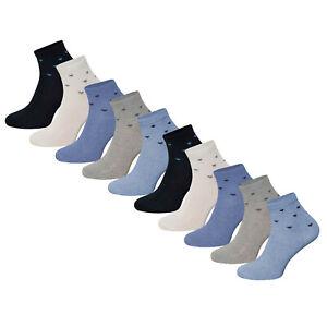 10 Paar Damen Kurzsocken Sportsocken Socken mit Komfortbund Sommersocken