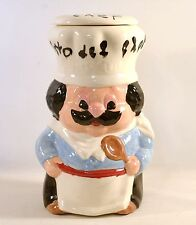 Italian Fat Chef Cuisto des Chef Ceramic Cookie Jar Canister Home Decor