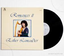 NM ESTHER LAMANDIER Aramaic & Sephardic songs french alienor AL12 LP NEAR MINT