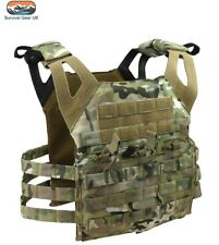 BTP Special Ops Jump Plate Carrier Tactical Molle Vest Military Airsoft