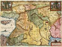 MAP ASIA MINOR MAP 12 X 16 INCH ART PRINT POSTER PICTURE HP2124