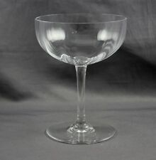 "Baccarat Crystal Montaigne Optic 4 3/4"" Champagne Sherbet Sold Individually"