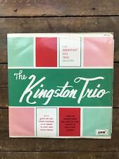 """The Breakfast Hill Trio Salutes - The Kingston Trio 12"""" LP *3 for1 on postage*"""