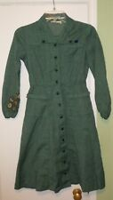 New listing Vintage Girl Scouts Of America Gsa Uniform Long Sleeve Dress w/ Merit Badges