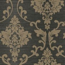 Holden Kaluna Damask Pattern Wallpaper Metallic Floral Leaf Textured 65503