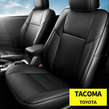 Full Set Pu Leather Car 5 Seat Covers Front Amp Rear For Toyota Tacoma 2016 2021