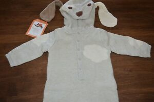 Pottery Barn Kids Baby Knit Puppy Dog Halloween Costume 6-12 Months NEW Cute!