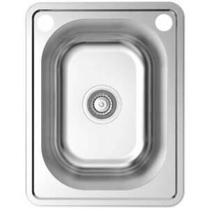New Stainless Steel Sink Kitchen Bar 30L Single Insert Bowl 1147C SSSICILY