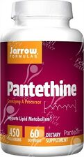 Jarrow, pantethine, 450mg x60Caps; - Cuore di fatica
