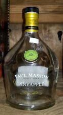 Empty Paul Masson PINEAPPLE Grande Amber Spirit Liquor Bottle. 750 ML Cork Top