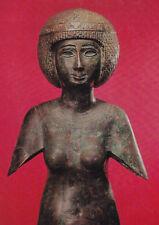 Bronze Statue Meres-Amun Egyptian Museum Berlin Germany Postcard Unused VGC