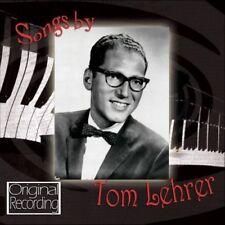TOM LEHRER - SONGS BY TOM LEHRER  CD NEW+