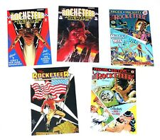 Rocketeer Comic Book Assortment Pacific Presents #1 VF+ More 1982 Comico+