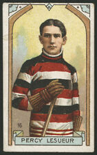 1911-12 C55 IMPERIAL TOBACCO ~ #16 ~ PERCY LESUEUR ~ HALL OF FAME GOALIE~OTTAWA