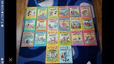 1986 Walt Disney Fun To Read Complete Set Of 19 Books Plus A Bonus A To Z Book