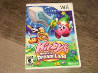 Kirby's Return to Dream Land Wii Nintendo Wii Complete CIB Authentic