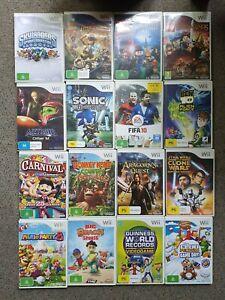 NINTENDO Wii GAMES (x16) + Spyro's Adventure Portal, Gill Grunt & The Dragon