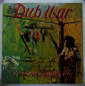 Scientist - Dub War (Coxsone Vs Quaker City) (1981 LP. IC 8016) Ex/Ex
