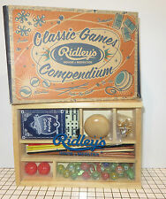 Ridley House of Novelties Classic Games Marbles, Yo-Yo, Jacks, Dominos
