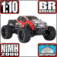 Redcat Racing Volcano EPX 1:10 Electric Brushed 4WD Monster RC Truck Red