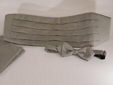 Mel Howard Bow Tie Cummerbund and Pocket Square
