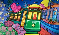 """Streetcar"" Art print by Richard Lewis of New Orleans"