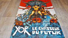 YOR LE CHASSEUR DU FUTUR !  affiche cinema  , bd dessin druillet